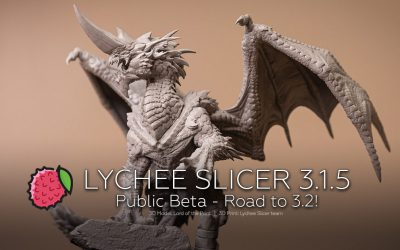 Lychee Slicer: the road to version 3.2 and Public Beta
