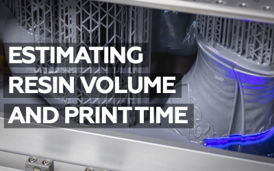 Estimating Resin Volume and Printing Time in Lychee Slicer