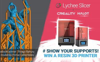 Lychee Slicer and Creality Halot Printer Giveaway